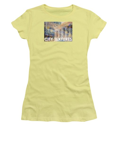 Downtown City Textures Women's T-Shirt (Athletic Fit)