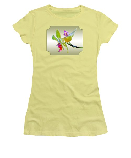 Dragon Glow Orchid Women's T-Shirt (Junior Cut)