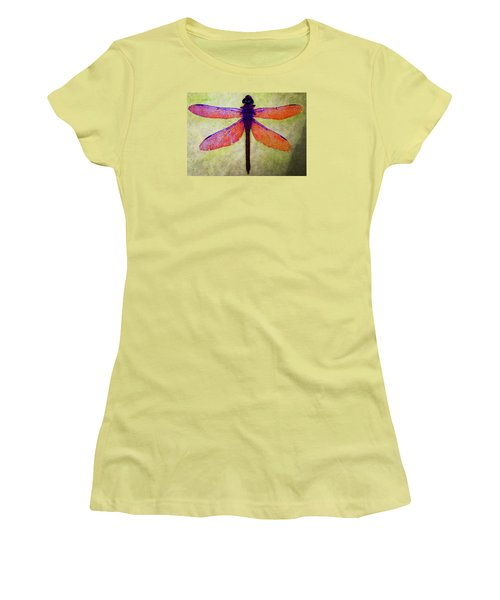 Dragonfly 7 Women's T-Shirt (Junior Cut) by Timothy Bulone
