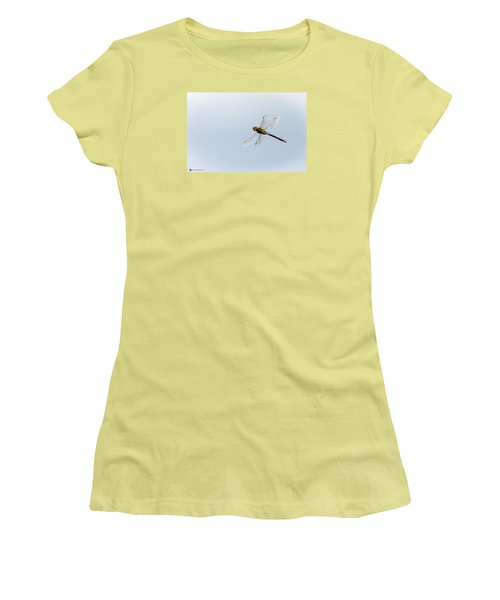 Dragonfly In Flight Women's T-Shirt (Athletic Fit)