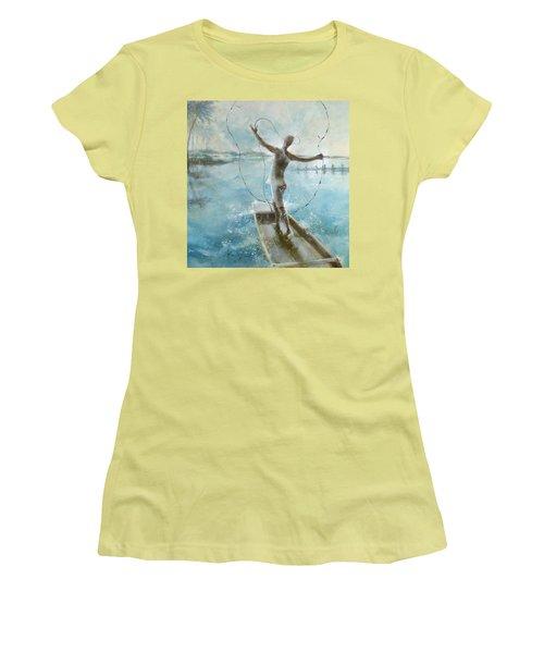 Dream Catcher Women's T-Shirt (Junior Cut) by Gertrude Palmer