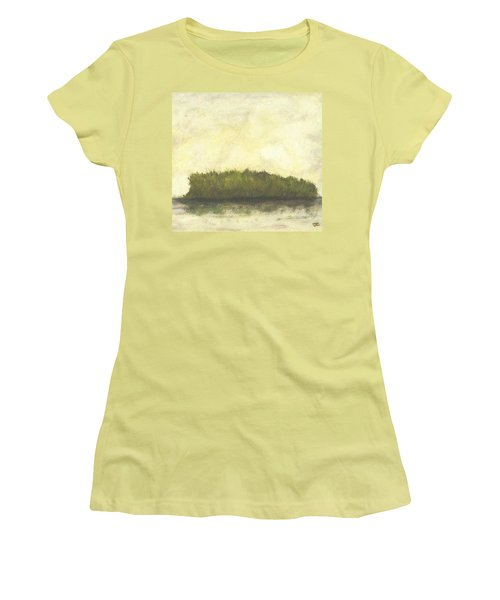 Dream Island I Women's T-Shirt (Athletic Fit)