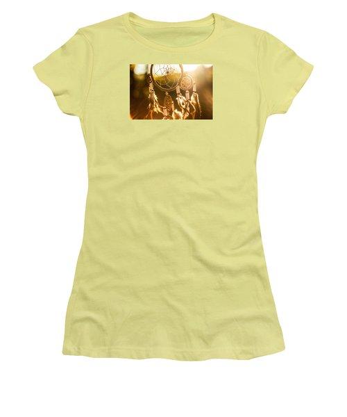 Dreamcatcher Women's T-Shirt (Junior Cut) by Tilen Hrovatic