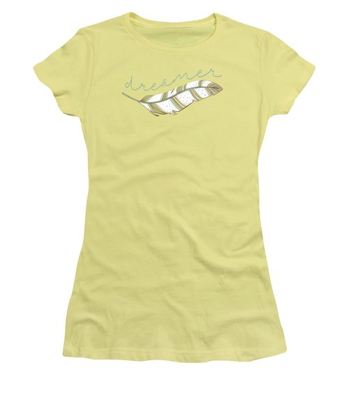 Women's T-Shirt (Junior Cut) featuring the digital art Dreamer by Heather Applegate