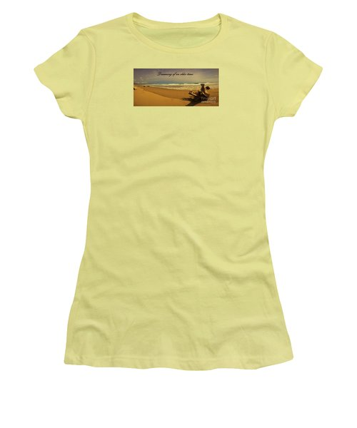 Dreaming Women's T-Shirt (Junior Cut) by Pamela Blizzard