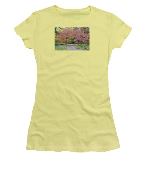 Dreamwalk Women's T-Shirt (Junior Cut) by Deborah  Crew-Johnson