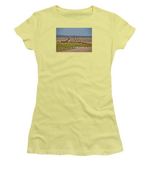 Driftwood With Baracles Women's T-Shirt (Junior Cut) by John Black