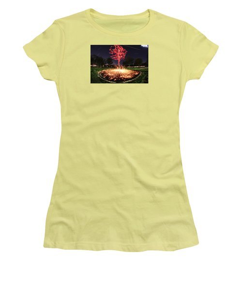 Drone Tree 1 Women's T-Shirt (Junior Cut) by Andrew Nourse