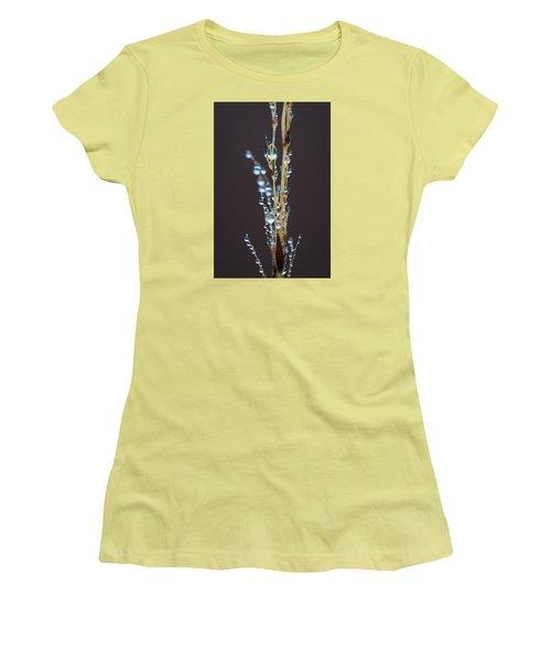 Droplets For Days Women's T-Shirt (Junior Cut) by Nikki McInnes