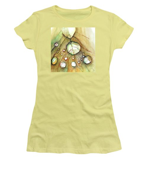 Dropping In Women's T-Shirt (Junior Cut) by Allison Ashton