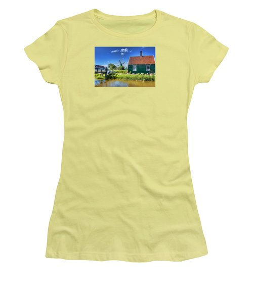Dutch Village Women's T-Shirt (Athletic Fit)