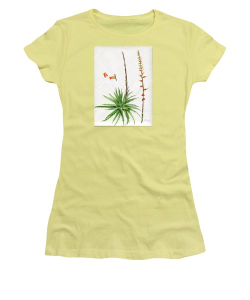 Dyckia Platyphylla Women's T-Shirt (Athletic Fit)