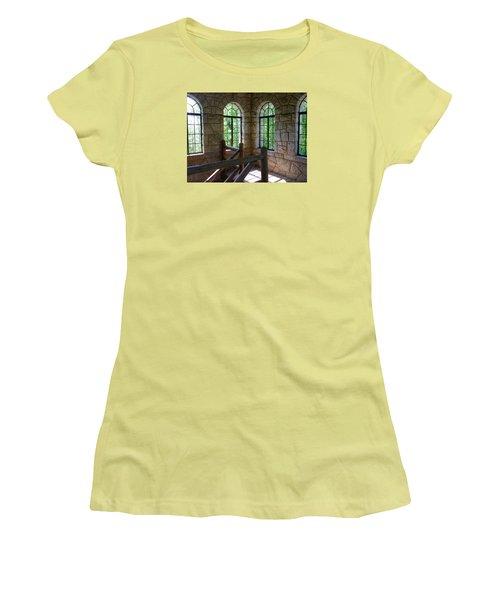 Eagel Rock View Women's T-Shirt (Athletic Fit)