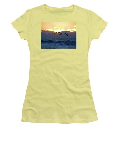 Early Bird Women's T-Shirt (Junior Cut) by Newwwman