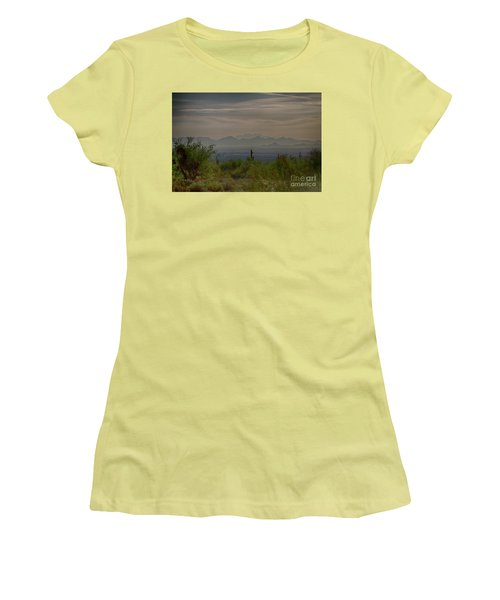 Early Morning Women's T-Shirt (Junior Cut) by Anne Rodkin