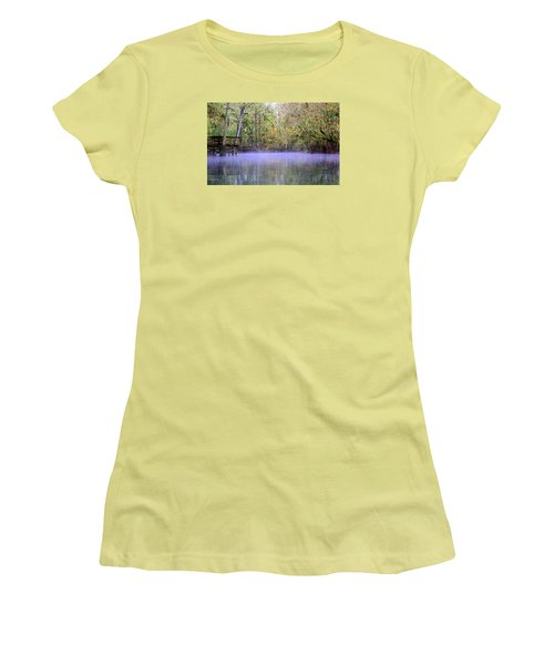 Early Morning Springs Women's T-Shirt (Athletic Fit)