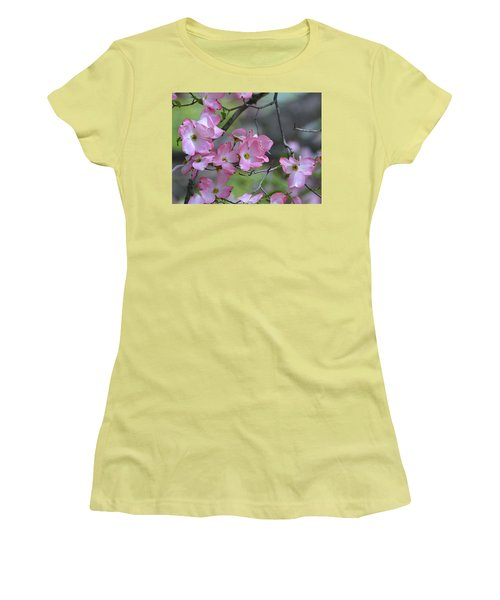 Early Spring Color Women's T-Shirt (Junior Cut) by Kathy Eickenberg