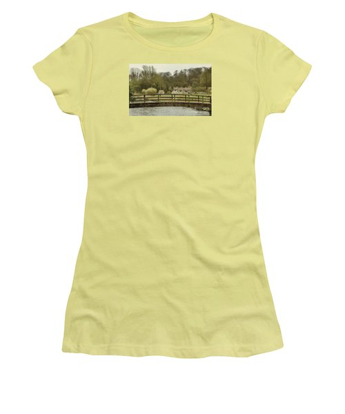 Early Spring In The Counties Women's T-Shirt (Athletic Fit)