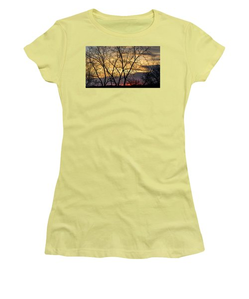 Early Spring Sunrise Women's T-Shirt (Athletic Fit)