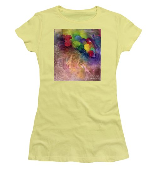Earth Emerging Women's T-Shirt (Junior Cut) by Allison Ashton