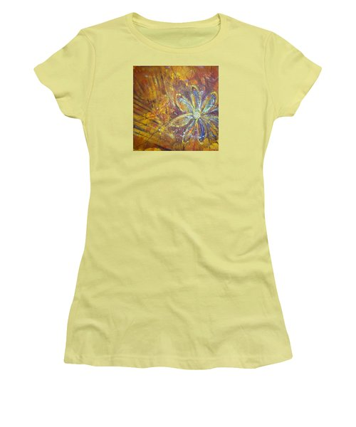 Earth Flower Women's T-Shirt (Athletic Fit)