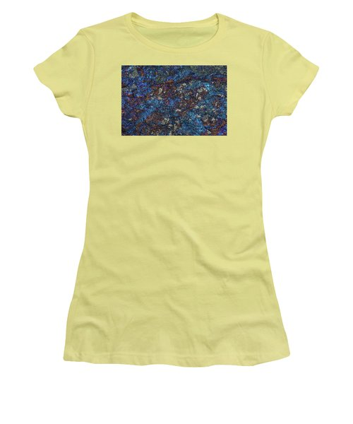 Earth Portrait Women's T-Shirt (Athletic Fit)