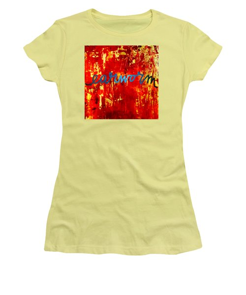 Earworm Women's T-Shirt (Athletic Fit)