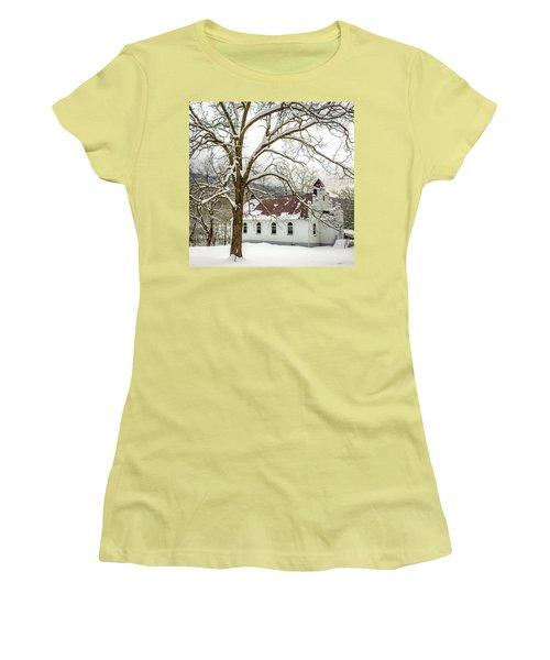 East Chapel Church Women's T-Shirt (Athletic Fit)