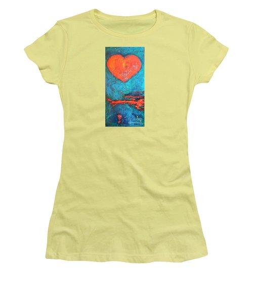 East Winds Women's T-Shirt (Junior Cut) by Diana Bursztein
