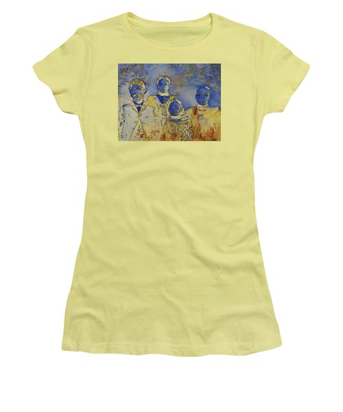 Women's T-Shirt (Junior Cut) featuring the painting Ectoplasma 2 by Cynthia Powell