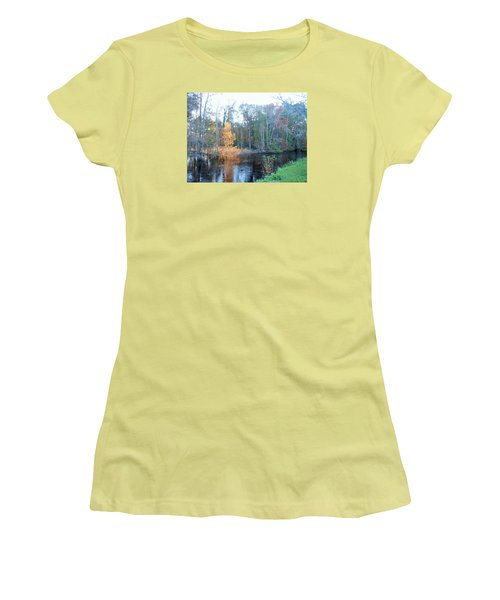Edisto River Women's T-Shirt (Junior Cut) by Kay Gilley