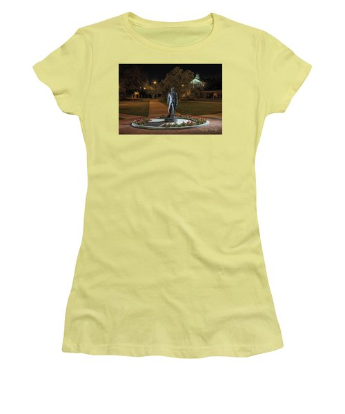 Women's T-Shirt (Junior Cut) featuring the photograph Edwin Stephens At Night by Gregory Daley  PPSA