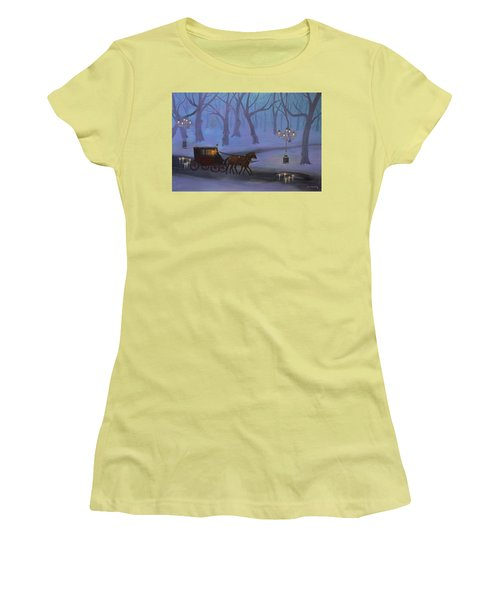 Eerie Evening Women's T-Shirt (Athletic Fit)