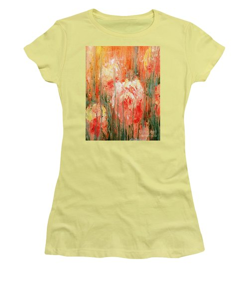 Efflorescence Women's T-Shirt (Athletic Fit)