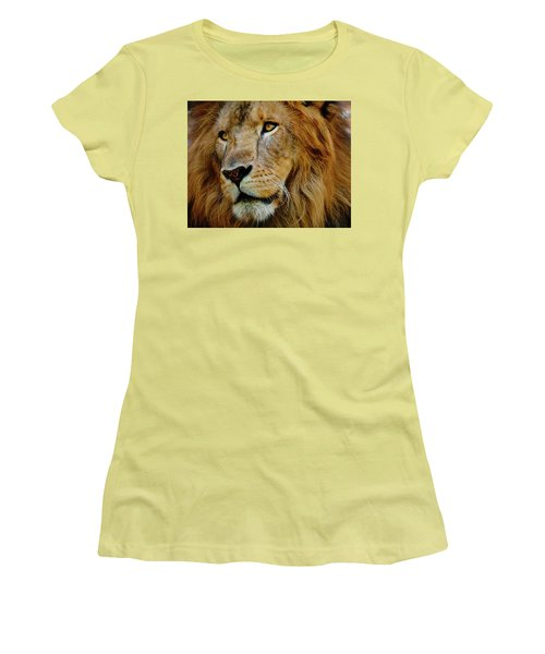 Women's T-Shirt (Junior Cut) featuring the photograph El Rey by Skip Hunt