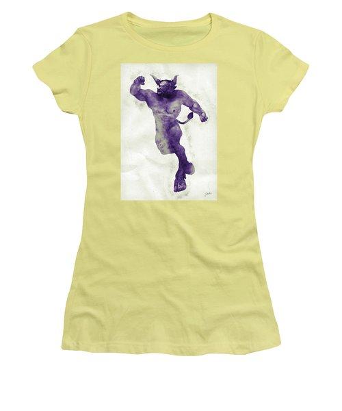 El Torito Guapo Women's T-Shirt (Junior Cut) by Joaquin Abella