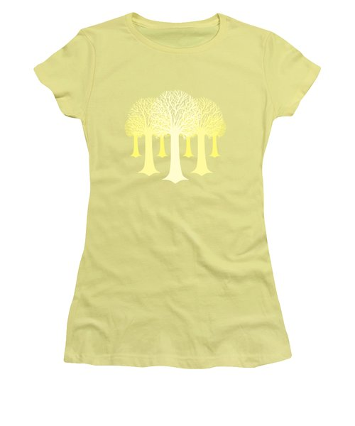 Electricitrees Women's T-Shirt (Junior Cut) by Freshinkstain