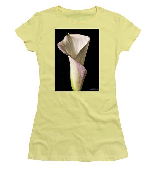 Elegant Calla Women's T-Shirt (Athletic Fit)