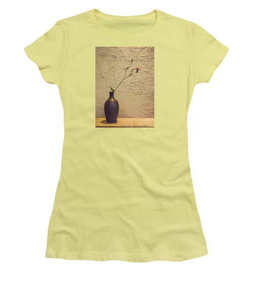 Women's T-Shirt (Junior Cut) featuring the photograph Elegant Still Life by Shirley Mangini