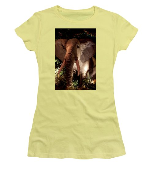 Elephant At Rainforest Cafe Women's T-Shirt (Athletic Fit)