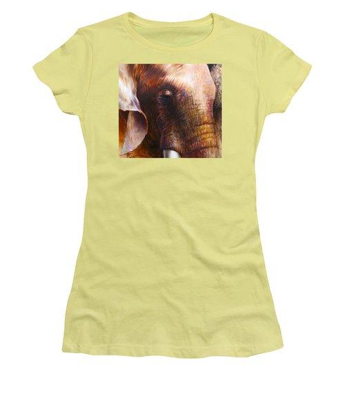 Elephant Empathy Women's T-Shirt (Athletic Fit)