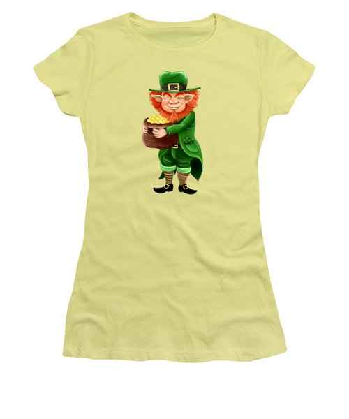 Elf Women's T-Shirt (Junior Cut) by Alessandro Scanziani