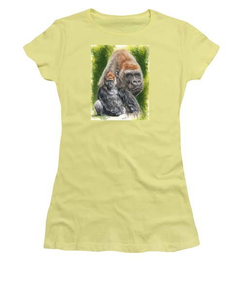 Women's T-Shirt (Junior Cut) featuring the painting Eloquent by Barbara Keith