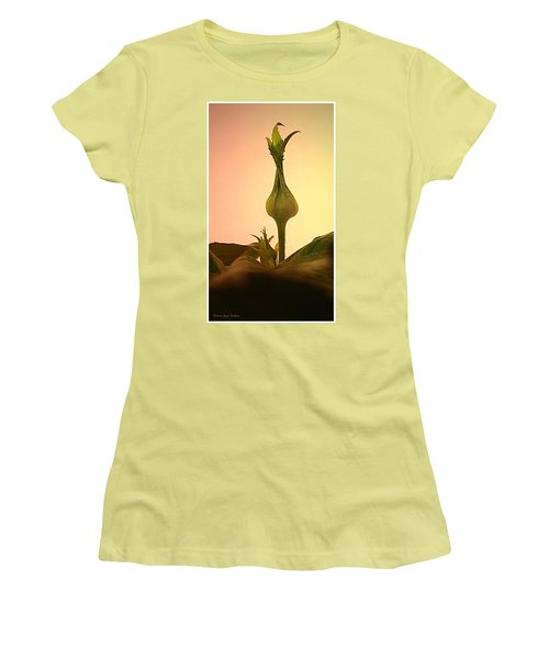 Women's T-Shirt (Junior Cut) featuring the photograph Embrace by Joyce Dickens