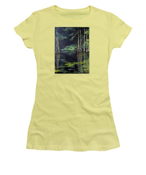 Emerald Bayou Women's T-Shirt (Athletic Fit)