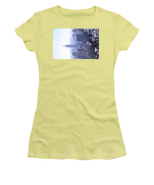Empire State Building Women's T-Shirt (Junior Cut) by Jeffson Chan