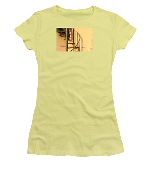 Women's T-Shirt (Junior Cut) featuring the photograph En Route by Prakash Ghai