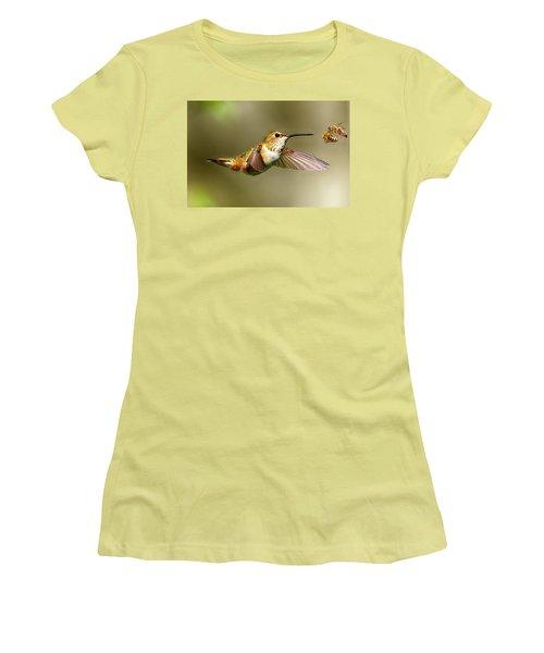 Encounter Women's T-Shirt (Junior Cut) by Sheldon Bilsker