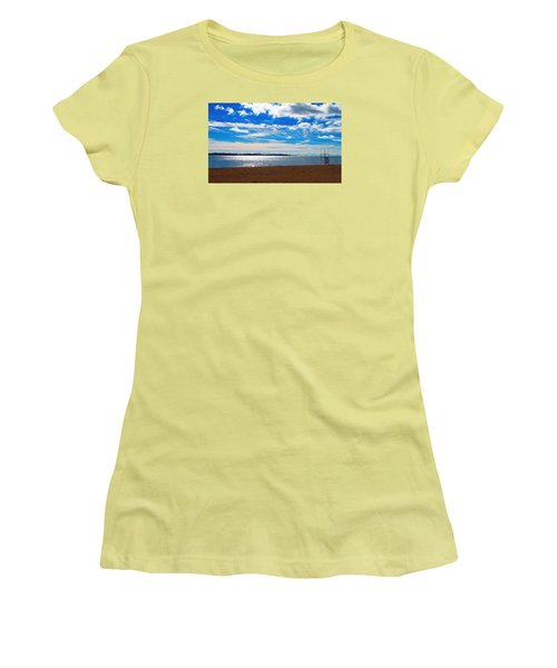 Women's T-Shirt (Junior Cut) featuring the photograph Endless Sky by Valentino Visentini