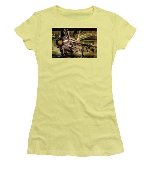English Electric Lightning Qra Shed Women's T-Shirt (Junior Cut) by Ken Brannen